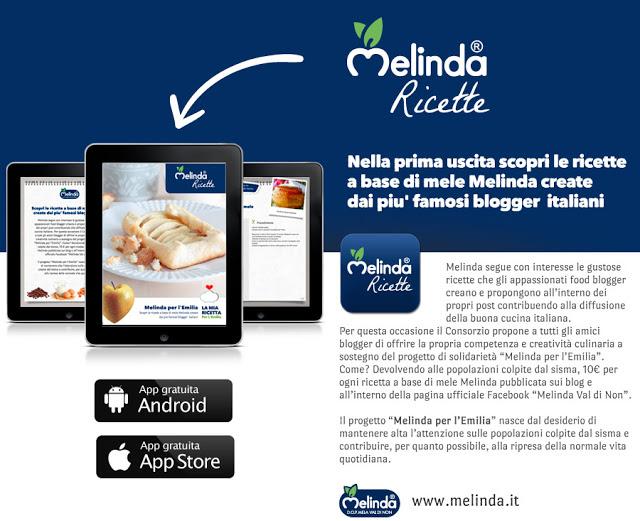 Melinda Ricette. La nuova App su Android e AppStore con le ricette Melinda.