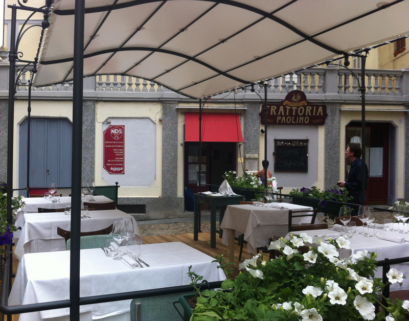 Trattoria da Paolino a Vercelli