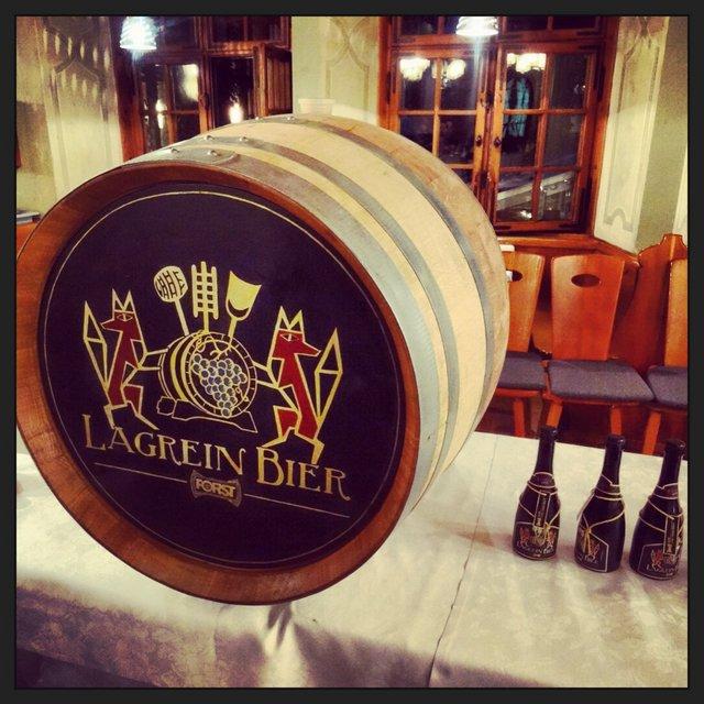 La birra Forst di Lagrain è prodotta in occasione del MWF.