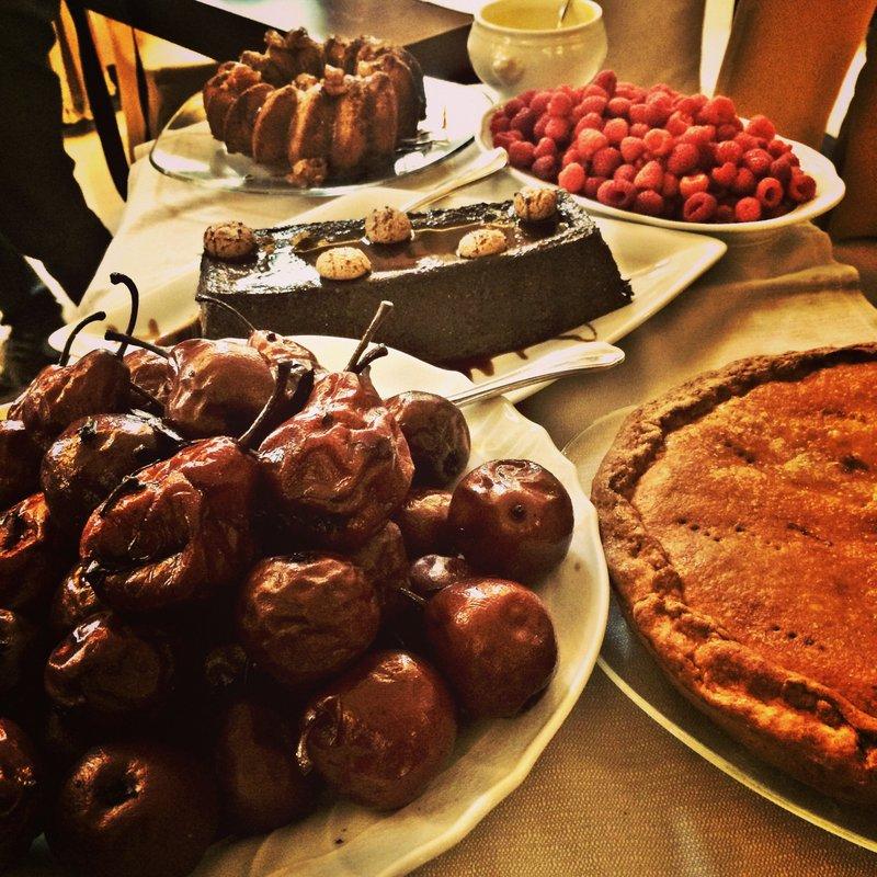 Il carrello dei dolci al ristorante Lovera, Cuneo