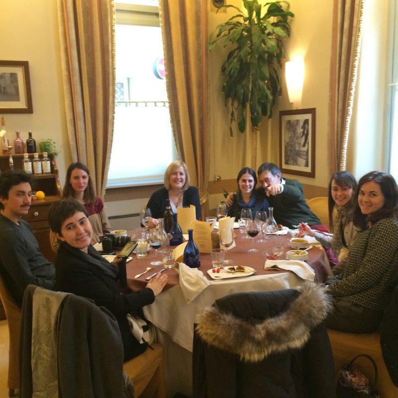 Il gruppo di #socialfoodewine Cuneo