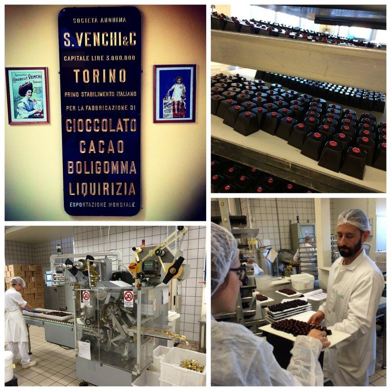 Venchi la fabbrica del cioccolato