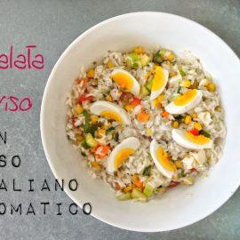 Insalata di riso: quale riso usare e come prepararla