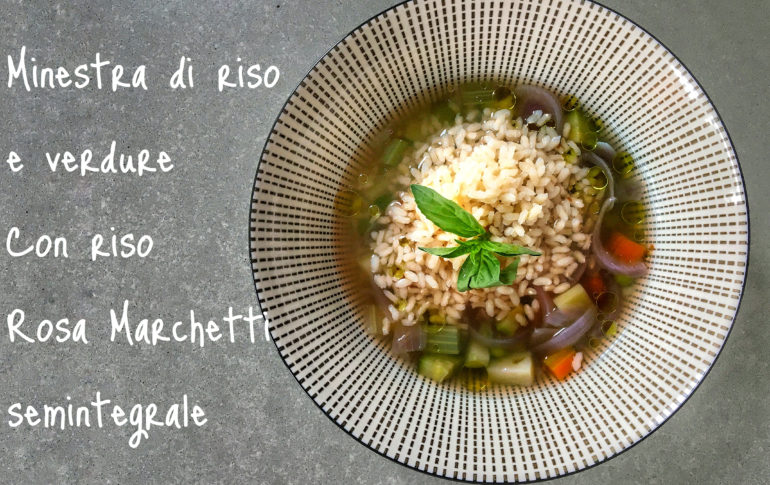 minestra detox riso e verdure