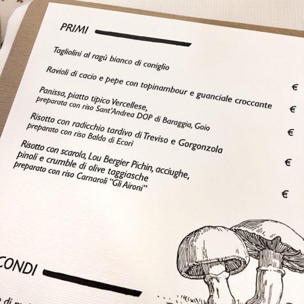 Hosteria Capel Rosso a Vercelli, il primo ristorante con la Carta dei Risi