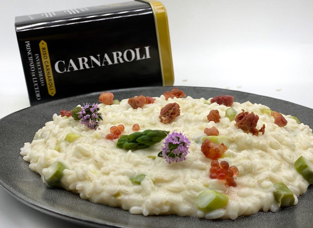 risotto asparagi carnaroli invecchiato
