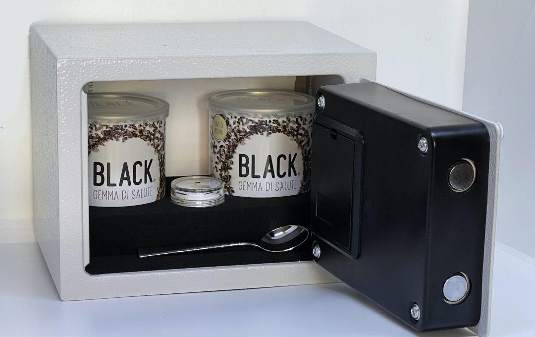 Black gemma acquerello