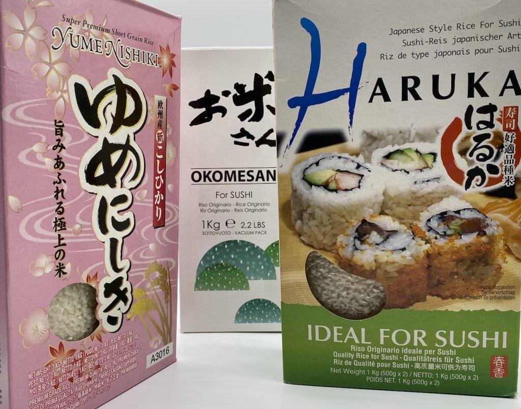 Riso tondo originario per sushi