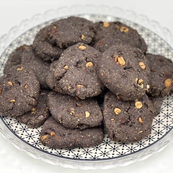 Biscotti con farina di riso senza burro e zucchero