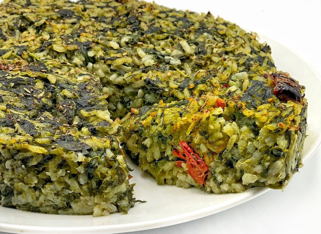 torta di riso salata piemontese spinaci sd